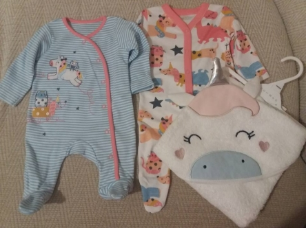 morrisons unicorn baby gear