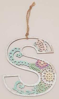 Silver letter 2