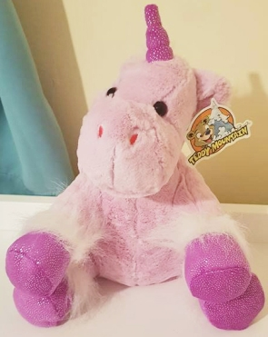 Unicorn heartbeat teddy