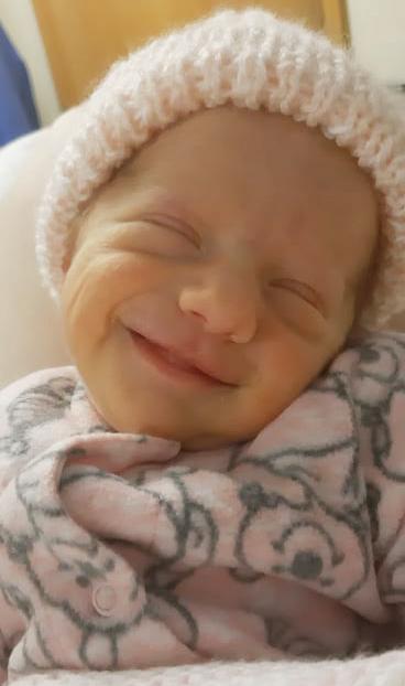 leilani smile rainbow baby